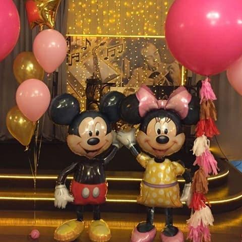 Ходячие шары Микки и Мини Маус