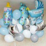 Набор воздушных шаров на выписку