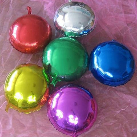 Воздушные шары фольгированные круги