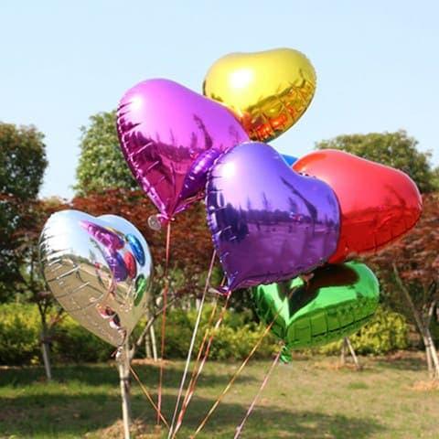 Воздушный шар фольгированное сердце