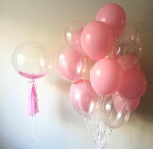Прозрачные воздушные шарики
