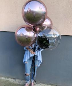 воздушный шар 3д сфера