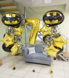 Воздушные шары в силе Бэтмен