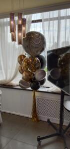 Сочный фонтан из воздушных шаров