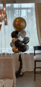 Стильный Фонтан из воздушных шаров