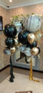 Супер стильный набор из воздушных шаров