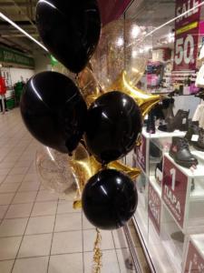 фонтан из воздушных шаров
