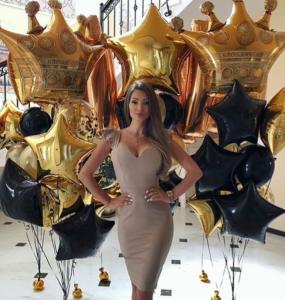 воздушные шары для королевы