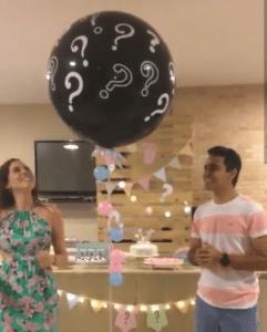 Воздушный шар сюрприз