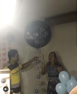 Как взорвать шар сюрприз