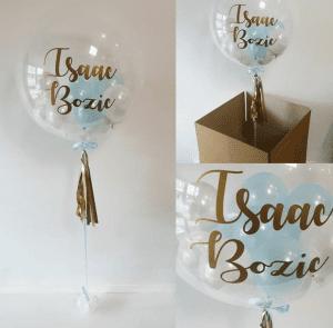 Коробка сюрприз с воздушным шариком