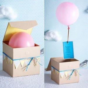 Коробка сюрприз с шаром
