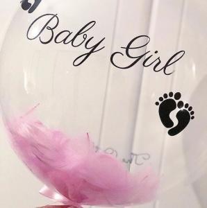 Прозрачный шар баблс для девочки