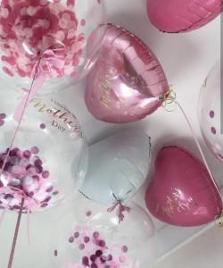 шары с конфетти