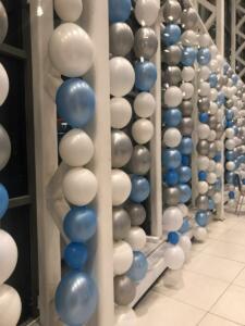Шторы из воздушных шаров
