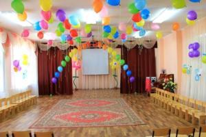 Оформление выпускного воздушными шарами в детском садике