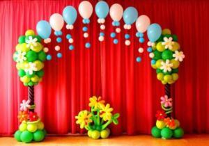 Оформление выпускного в садика воздушными шарами Казань