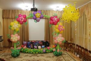воздушные шары на выпускной в детский сад